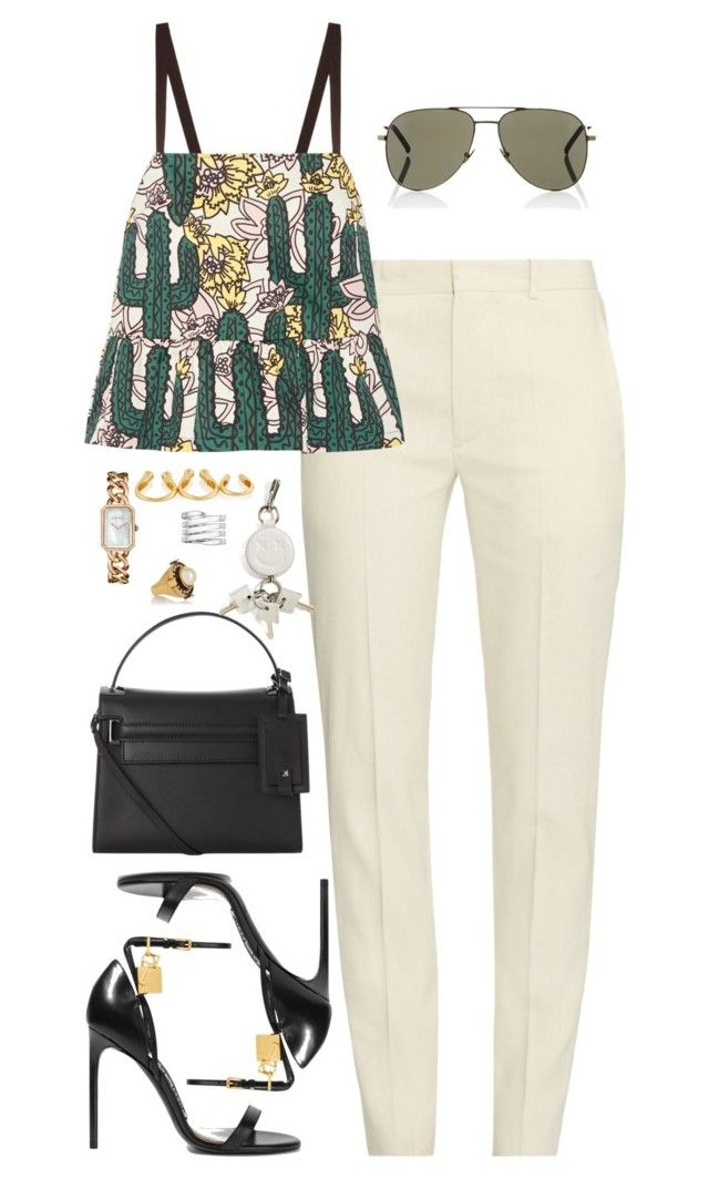 """""""Sin título #2179"""" by namelessale ❤ liked on Polyvore featuring Étoile Isabel Marant, Markus Lupfer, Tom Ford, Valentino, Chanel, Yves Saint Laurent, Alexander Wang, Arme De L'Amour, Alexander McQueen and Lynn Ban"""