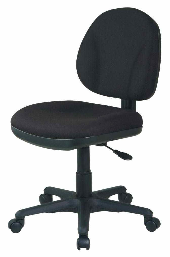 Brown Leather Office Chair Without Arms