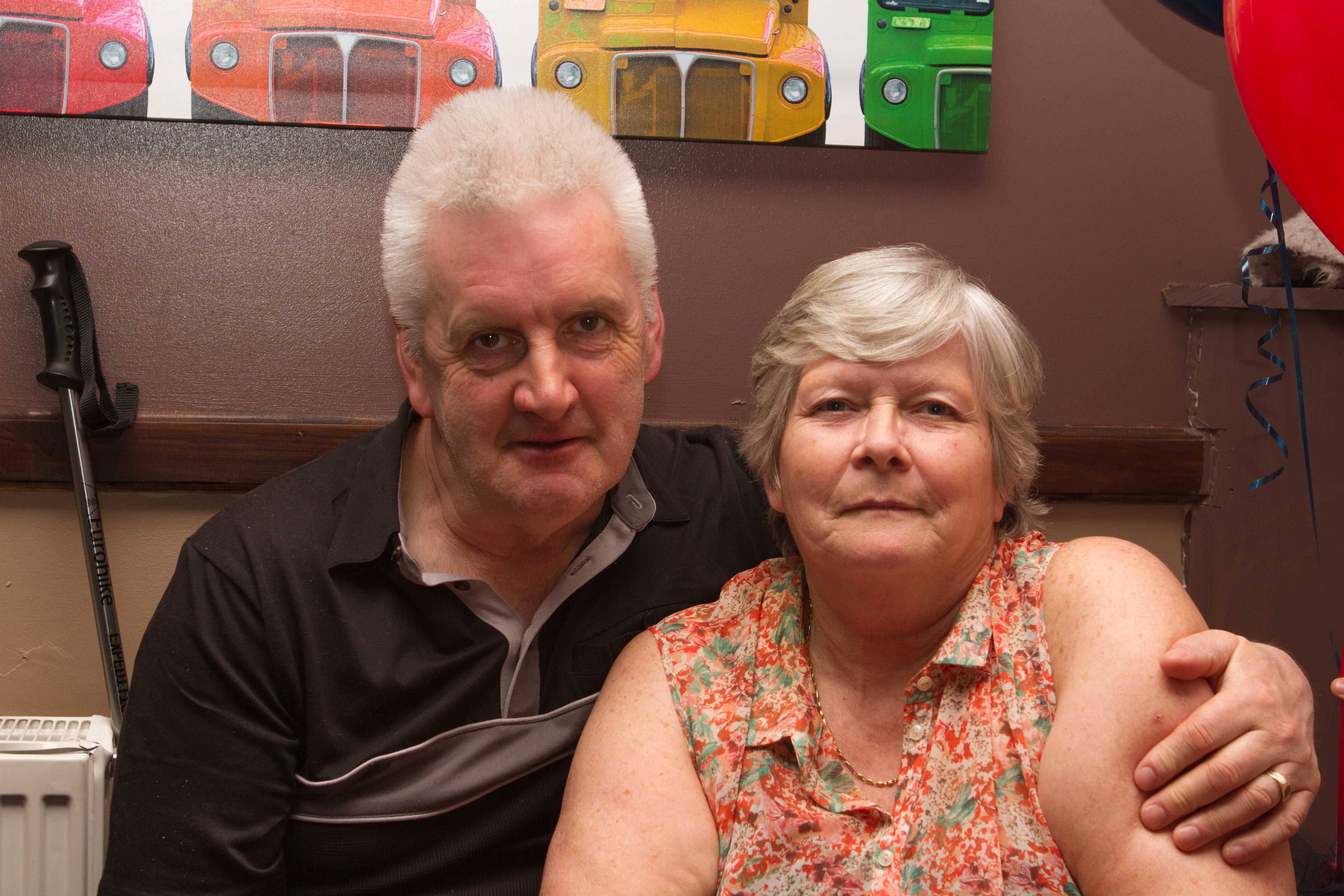 My mother Gladys and her other fiancee Roy!!