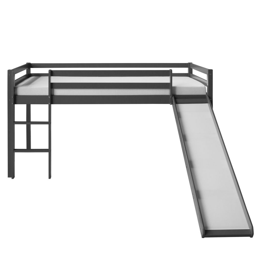 Details About Cabin Bunk Bed Kids Children High Sleeper Bed Slide