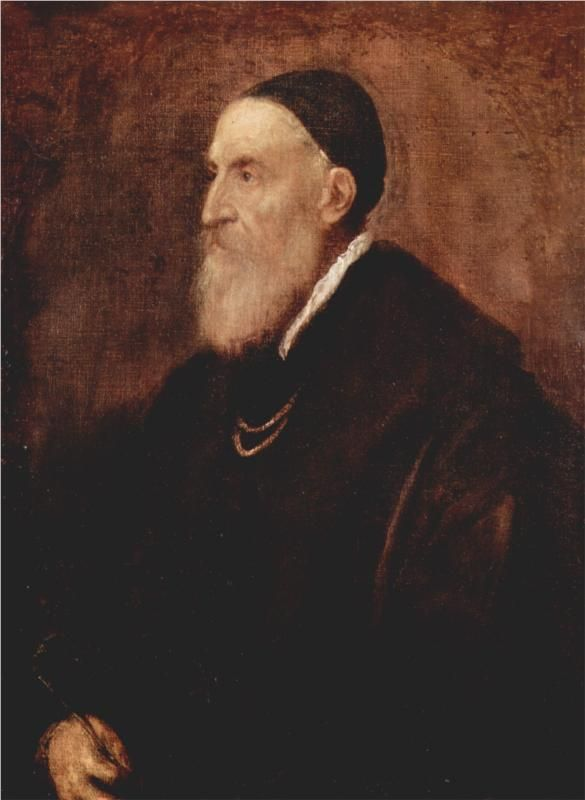 Self-portrait - Titian