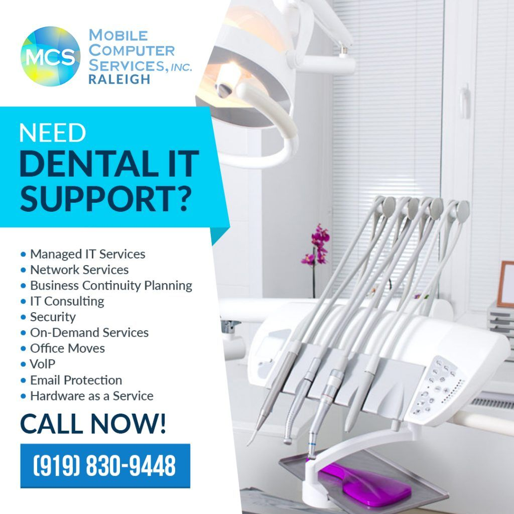 Outsourcing to a managed it services provider for dental