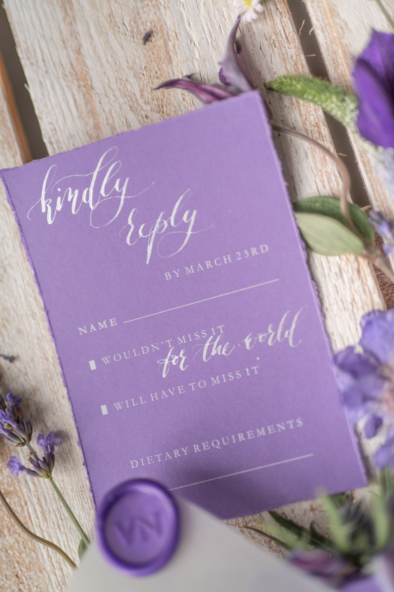Stylish wedding invitations handwritten 01/calligraphy/z