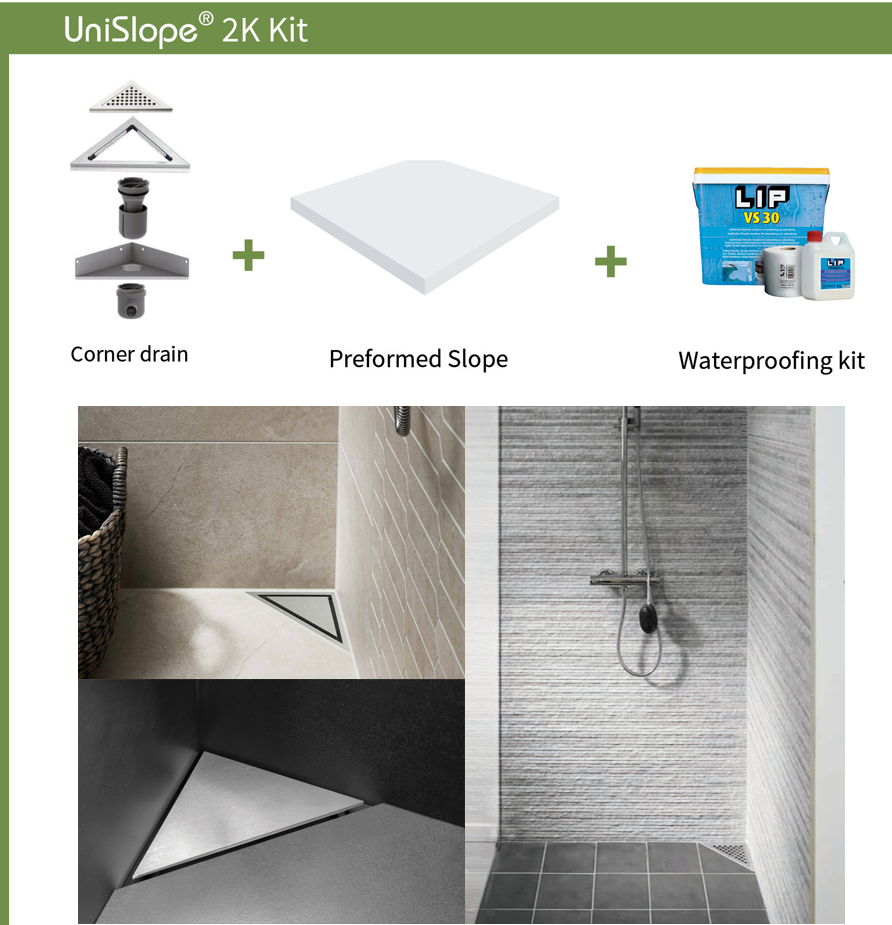 If You Are Looking For A Wet Room Shower With A Corner Drain The