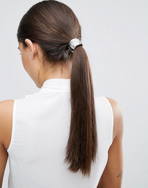 2da5cd78aee9 Резинка для волос с металлической отделкой | ASOS | Резинки для ...