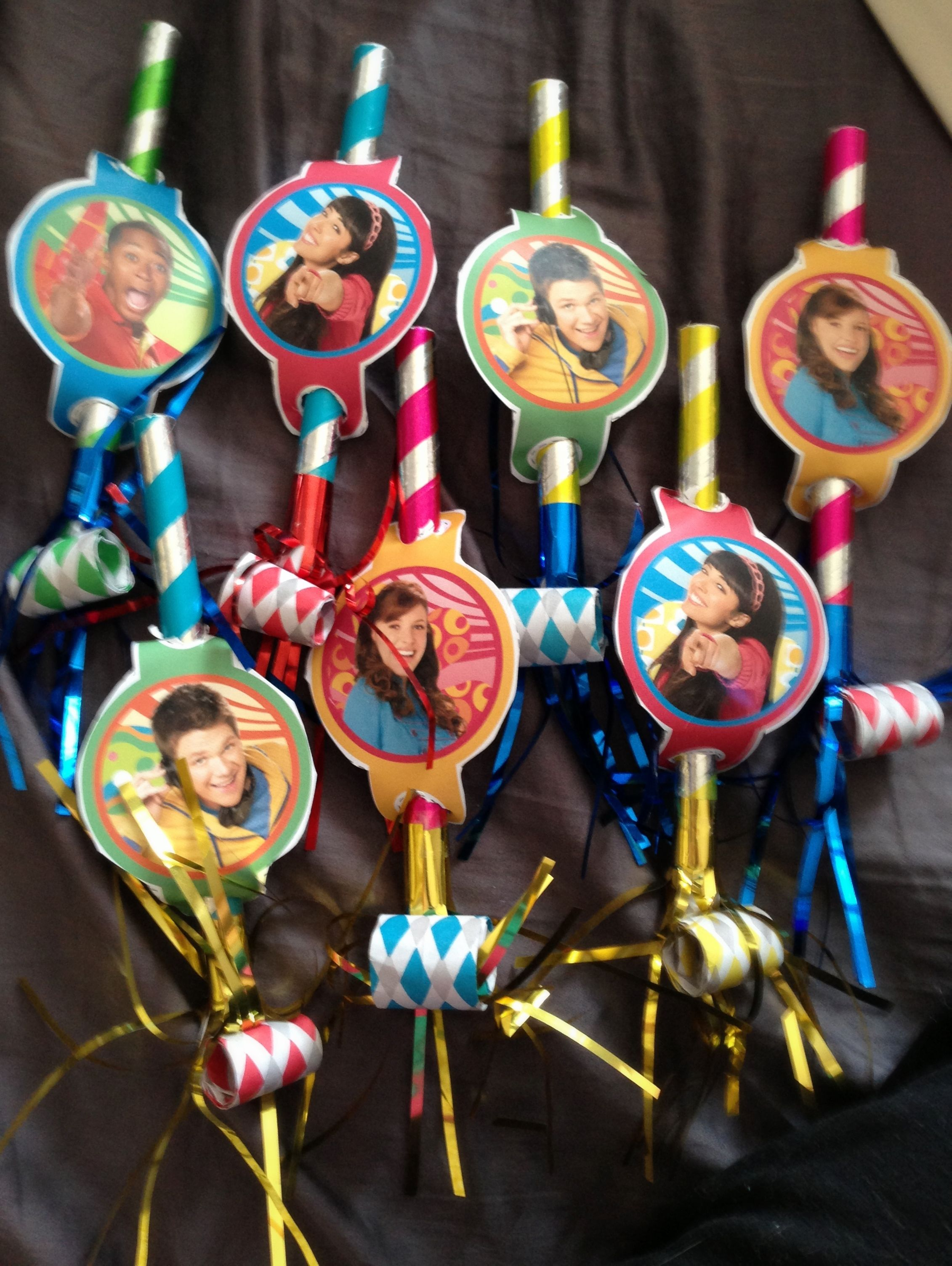 Fresh Beat Band party blowers