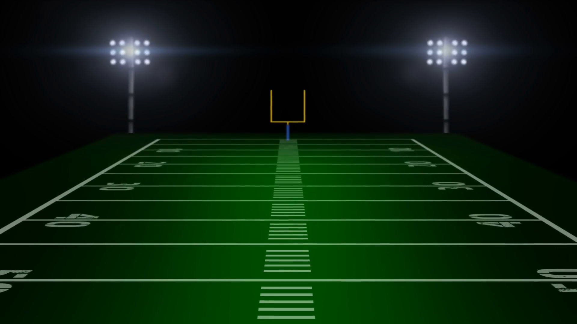 Football Stadium Background Animation royalty free stock video and