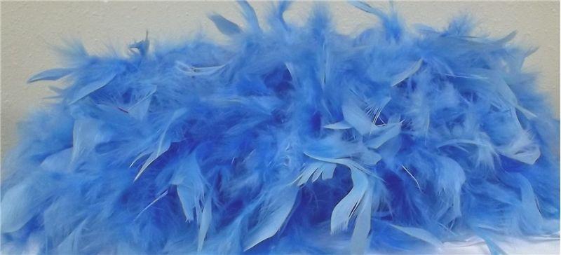 72 Baby Blue Feather Boa Blue Feather Baby Blue Burlesque Costumes