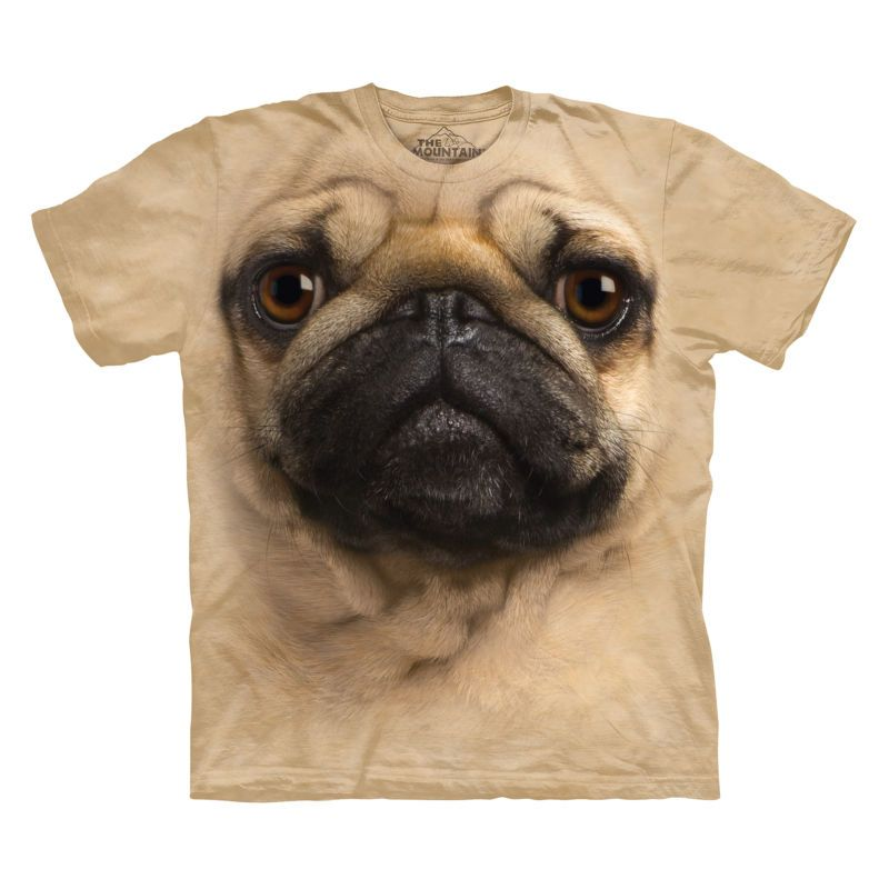 The Mountain T-Shirt Shirt Pug Face