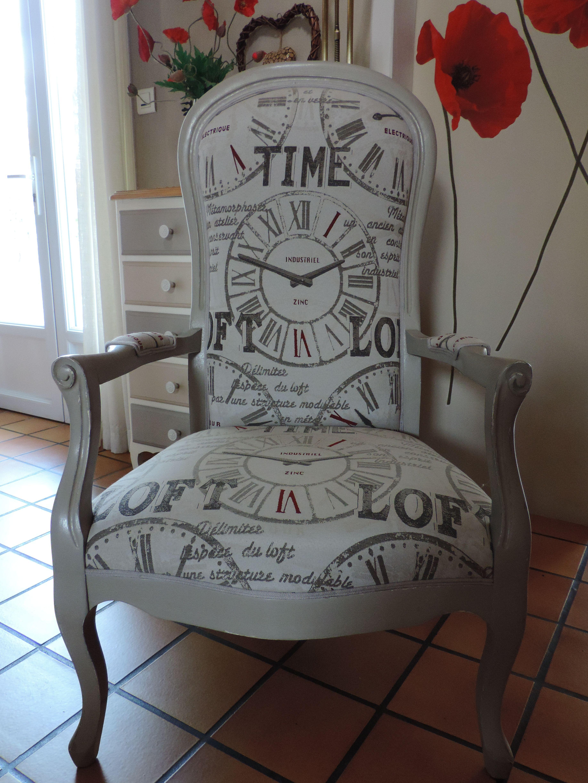 fauteuil voltaire meubles relook s mobilier de salon. Black Bedroom Furniture Sets. Home Design Ideas