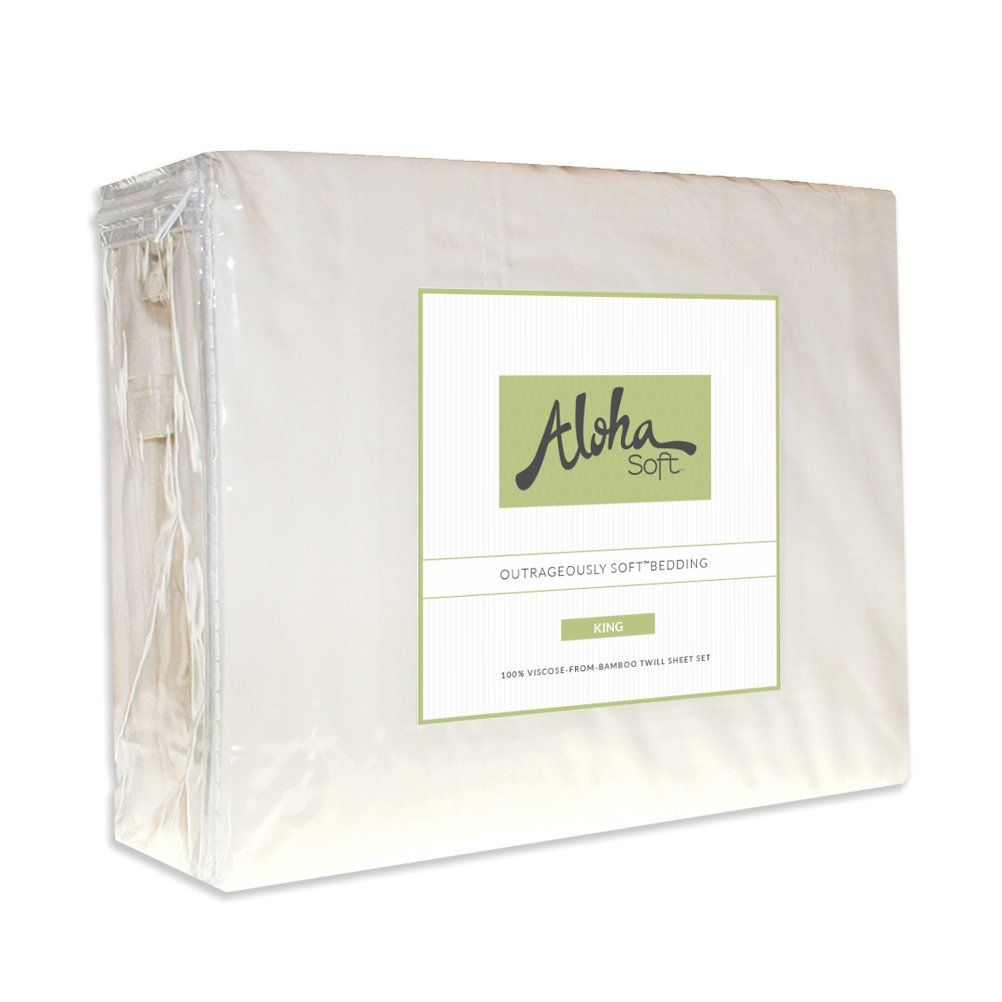 Aloha Soft Bamboo Sheets By 4 Piece Bed Sheet Set Includes Bed