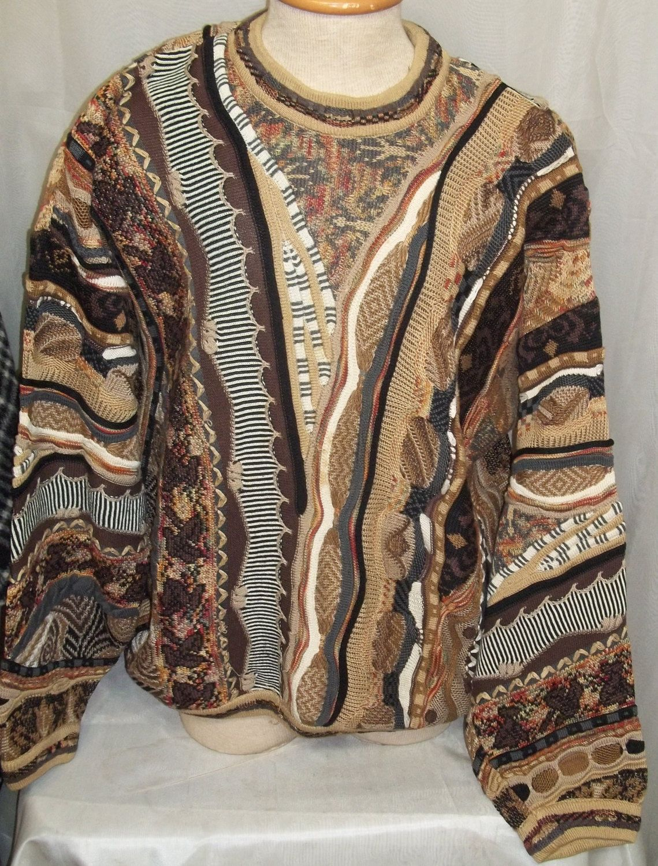 Vintage Men's Sweater Seven Oaks Canada Cosby Coog Biggy