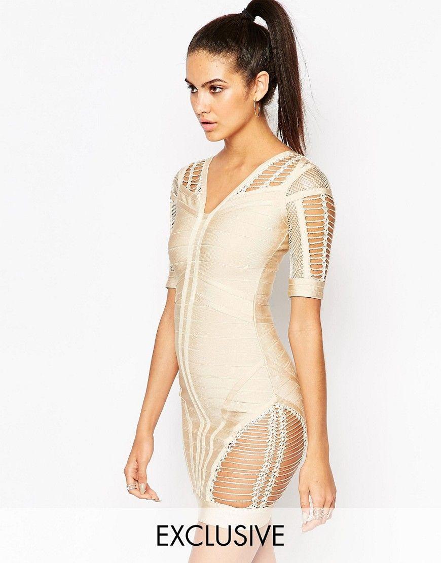Bild 1 von WOW Couture – Figurbetontes Bandagenkleid mit ...