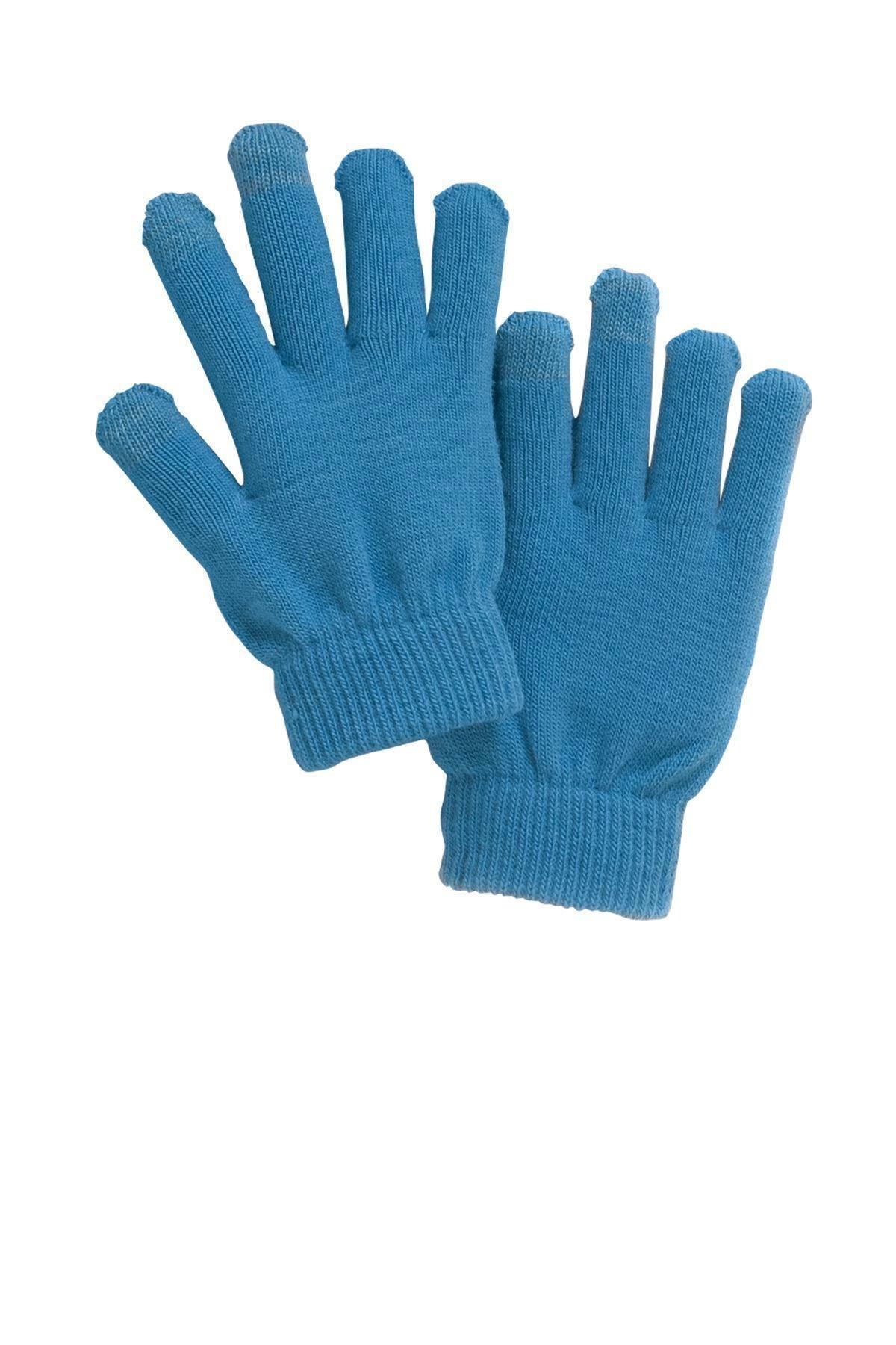 Sporttek spectator gloves sta01 blue gloves