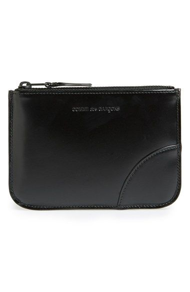 Top Zip Pouch - Black Comme Des Gar?ons WhY6w