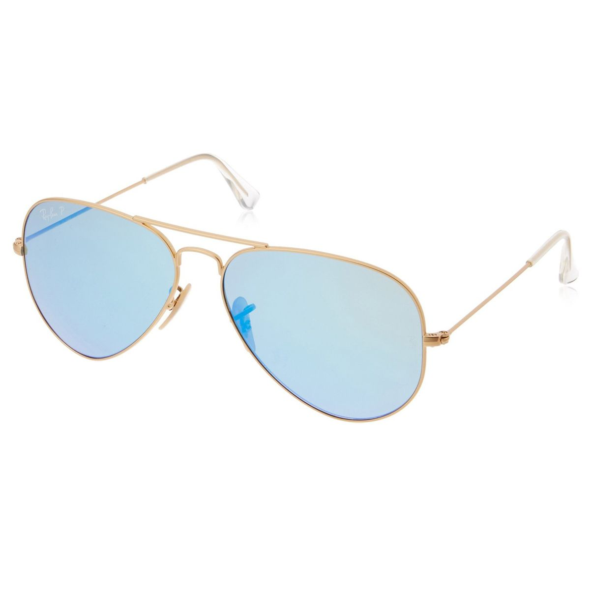 44d0dd01e0 Ray-Ban RB 3025 112-4L 58 Unisex Aviator Gold Metal Frame Polarized Blue  Flash Lenses Sunglass - Discount Watch Store