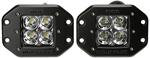 Rigid Industries 21211 Dually Floodlight Flush Mount Set Of 2 Want To Know More Click On The Affiliate Link A Rigid Industries Light Accessories Car Hacks