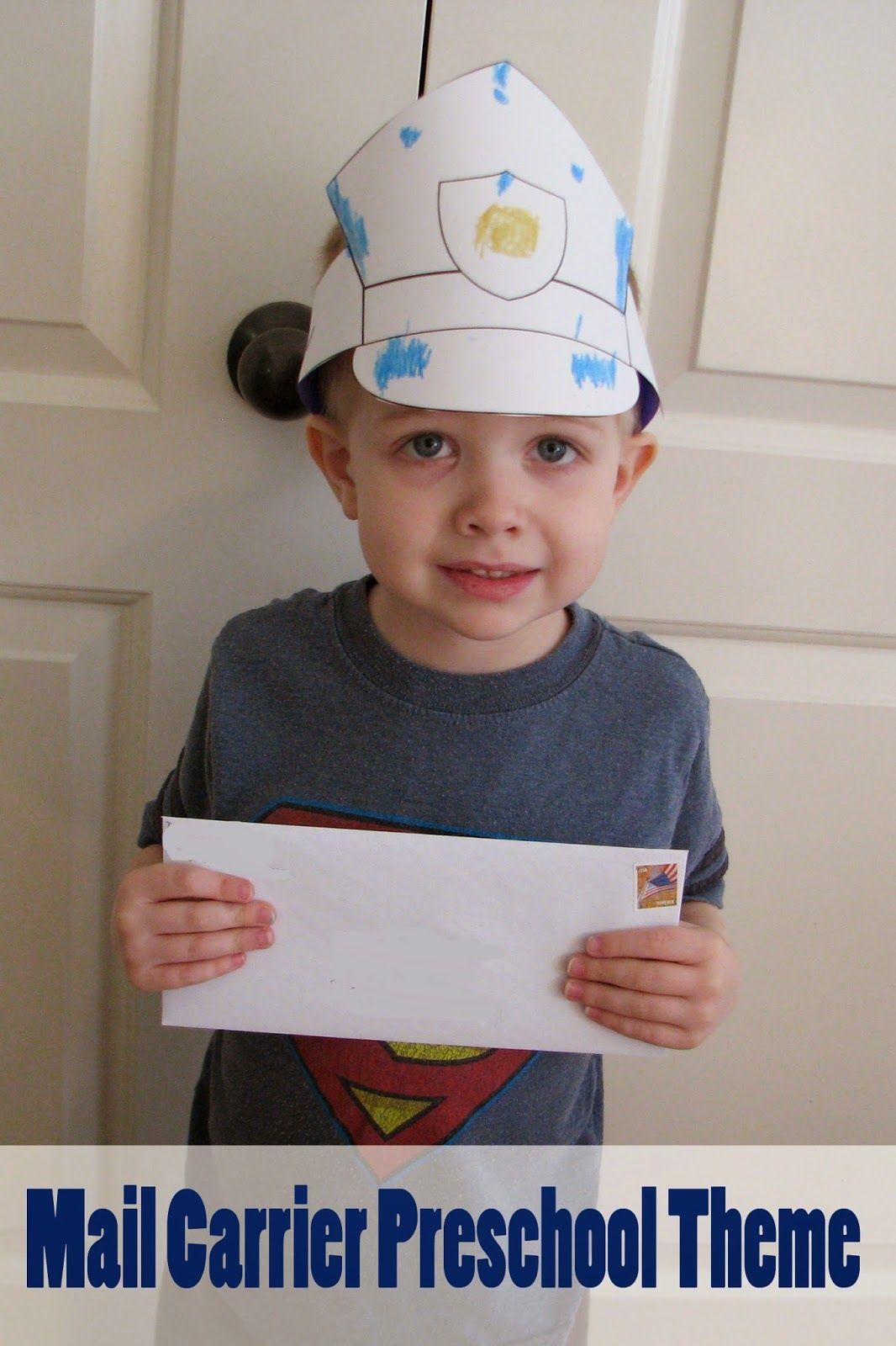 Mail Carrier Preschool Theme Mommy S Little Helper