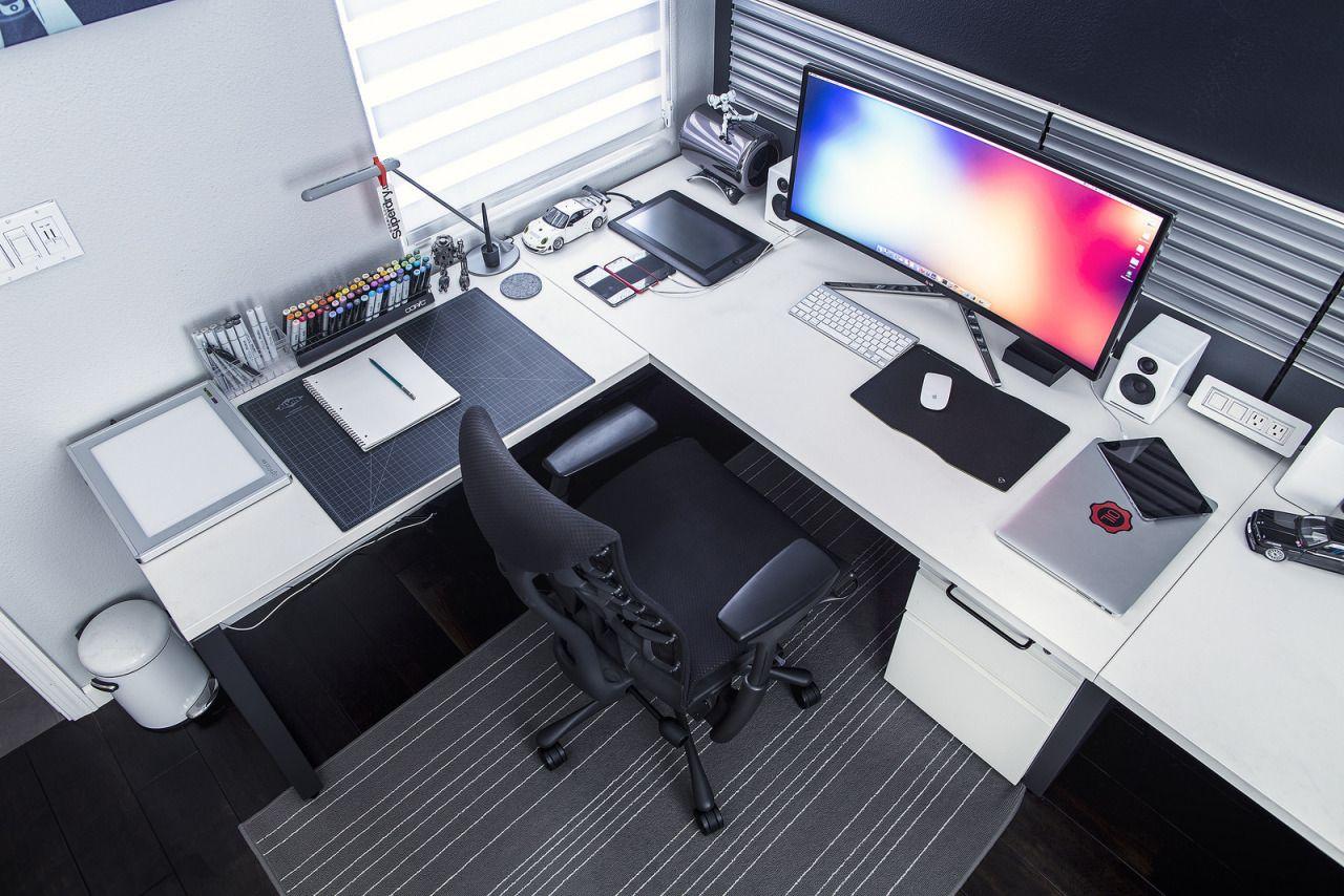 best desktop for home office. Minimalsetups: \u201c Source: @markjardine Follow Minimal Setups On Instagram. \u201d Best Desktop For Home Office