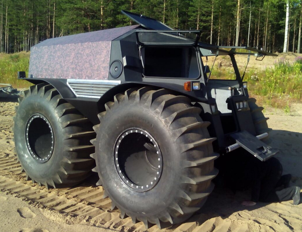 Russian Extreme All Terrain Vehicle The Sherp Offroad Vehicles Amphibious Vehicle All Terrain Vehicles