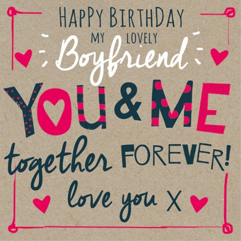 Birthday Boyfriend Romanticismo
