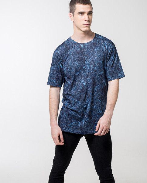 04c96117 local-pattern-texture-print-skater-t-shirt