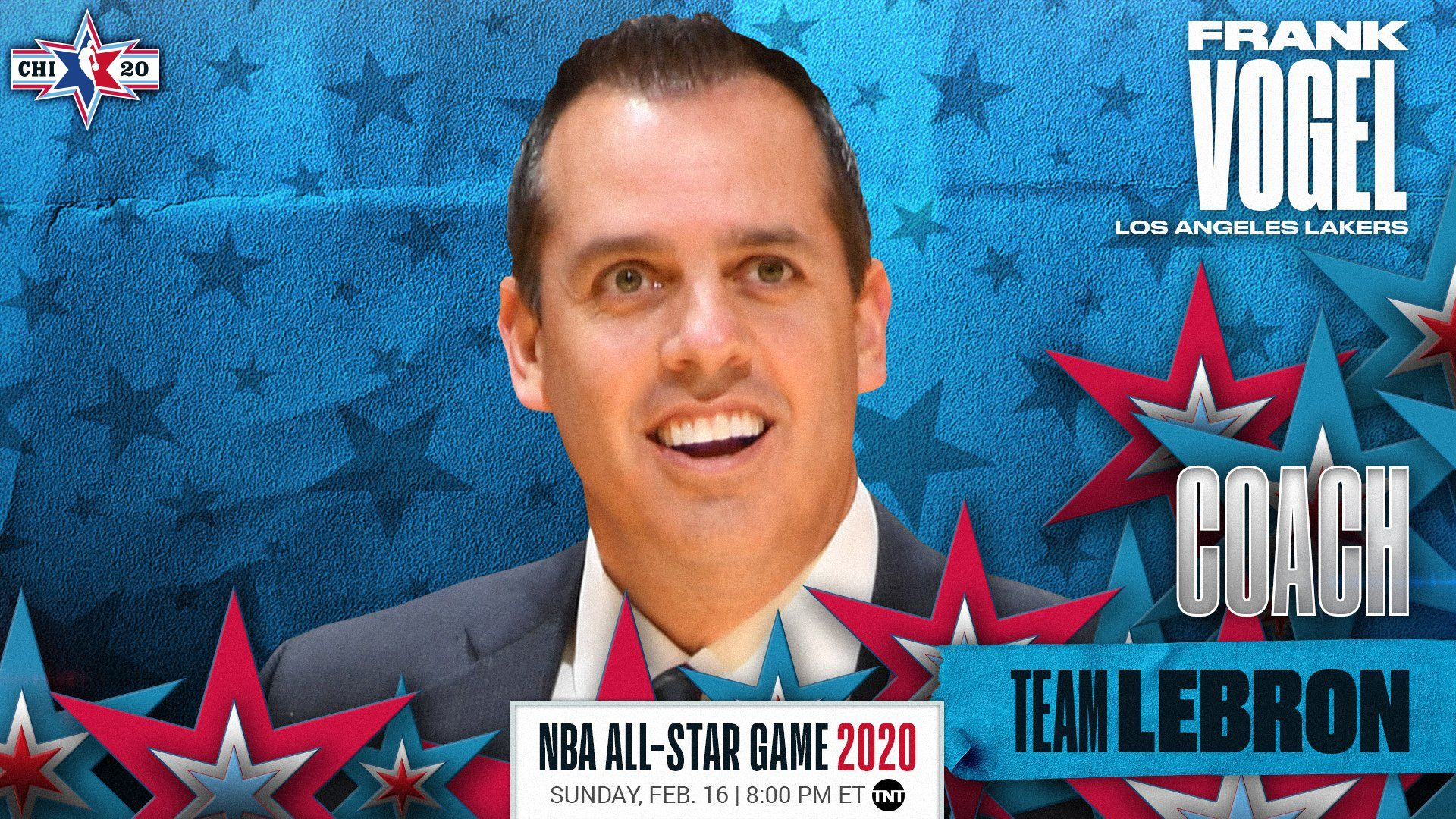 Los Angeles Lakers Head Coach Frank Vogel And His Staff Will Coach Teamlebron In The 2020 Nbaallstar Game C Nbaall In 2020 Coach Team Sports News Los Angeles Lakers