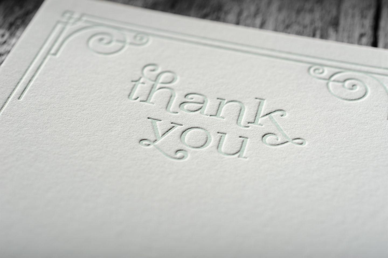 Letterpress wedding invitations chapel press letterpress