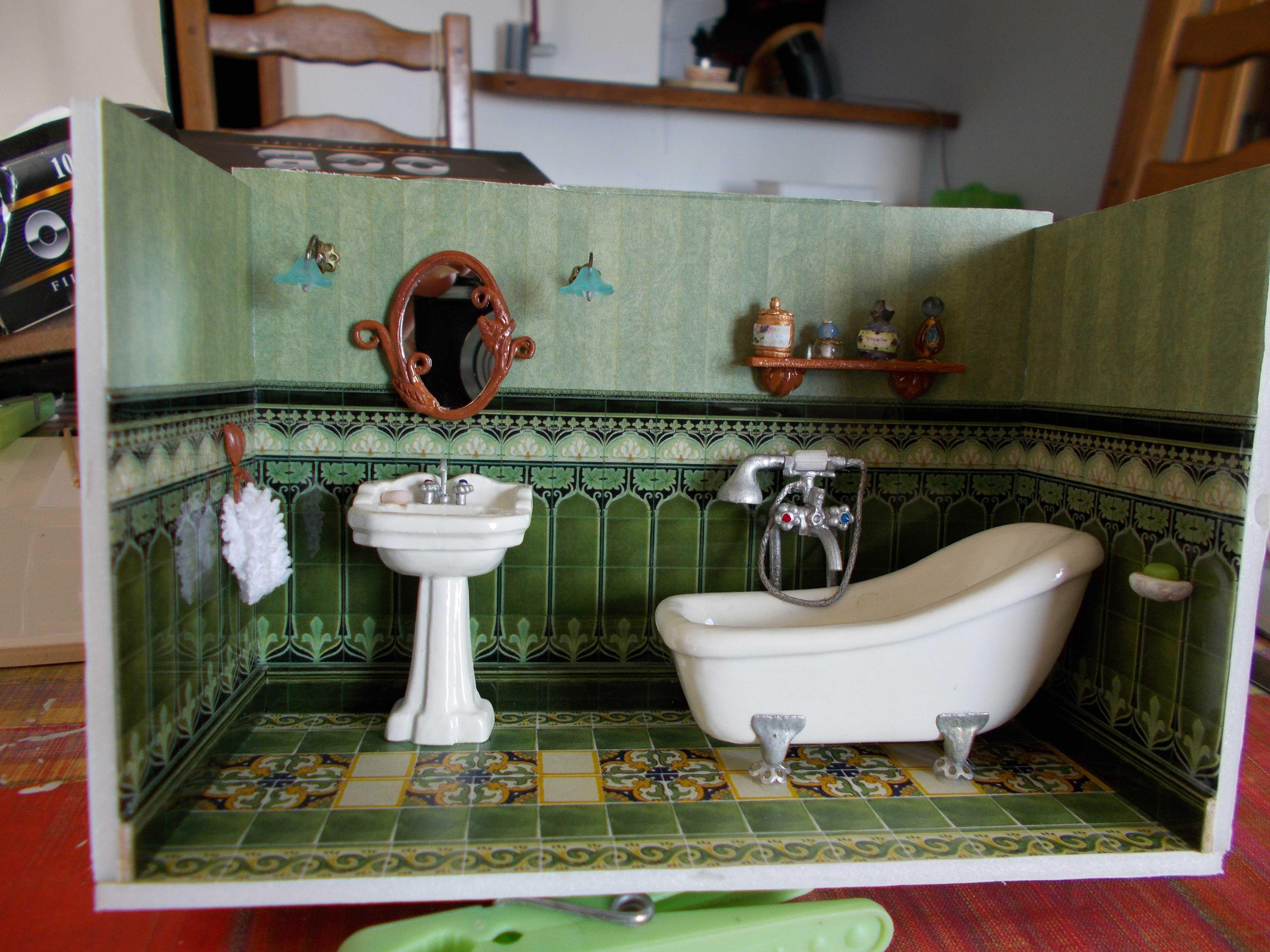 Salle De Bain Miniature ~ salle de bain art nouveau affordable salle de bains style art dco
