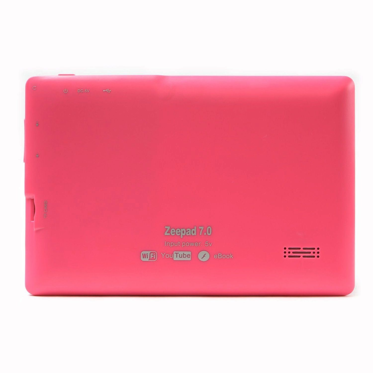 PINK Color 7.0 ZEEPAD(TM) ANDROID 4.0 TABLET PC COMPUTER