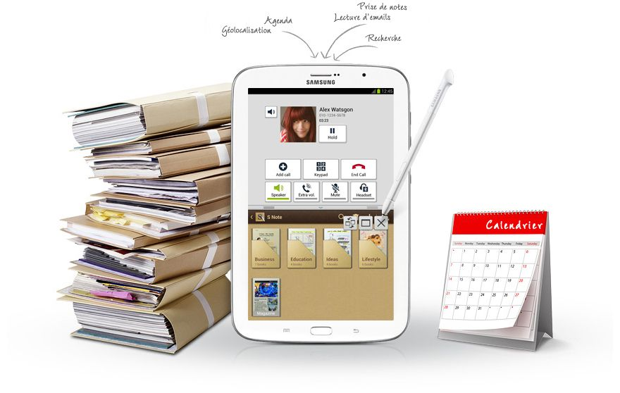 Une fonction Multitâche innovante Galaxy note, Samsung