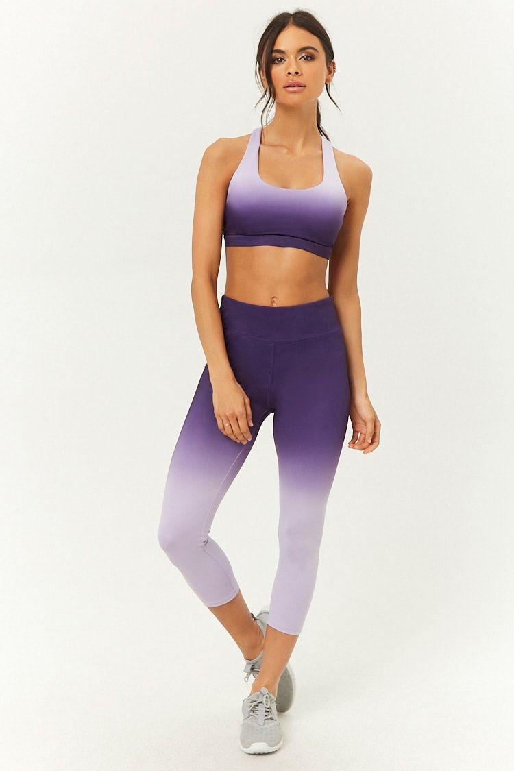 dddea1887cb76 Active Ombre Capri Leggings   clothes   Ladies gym wear, Fitness ...