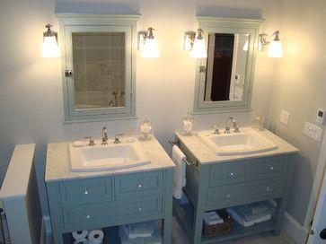 two vanities in one bathroom   ... Storage Furniture / Bathroom Storage & Vanities / Bathroom Vanities