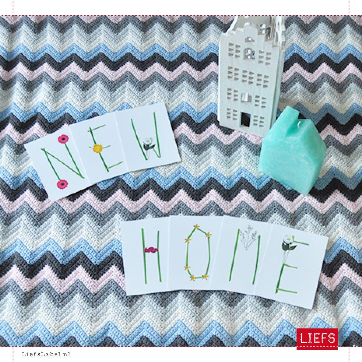 Happy New Home ♡ Styling ♡ Thema Leve de Lente ♡ Maak ook je eigen slinger! www.LiefsLabel.nl