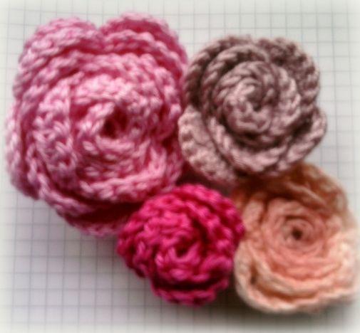 Häkelröschen Flori Crochet Pinterest Crochet