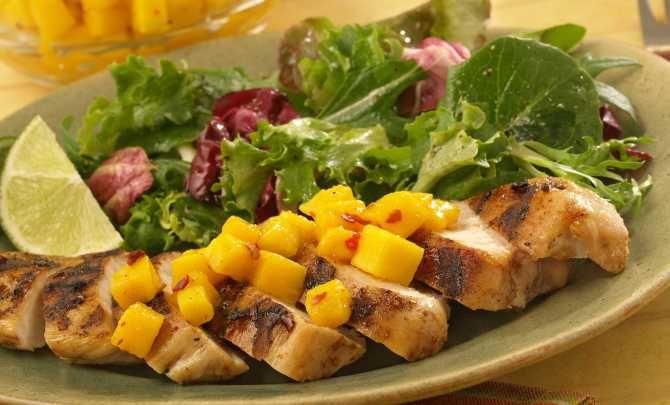Jerk Chicken with Spicy Mango Topper Recipe - Relish