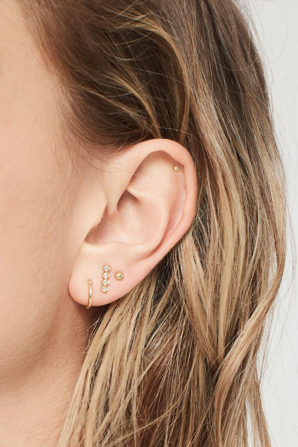 Women Jewellery Elegant New Opal  Ear Stud Earrings Fashion Jewelry LH