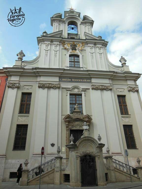 Iglesia de la Transfiguración del Señor en  #Cracovia (#Polonia).