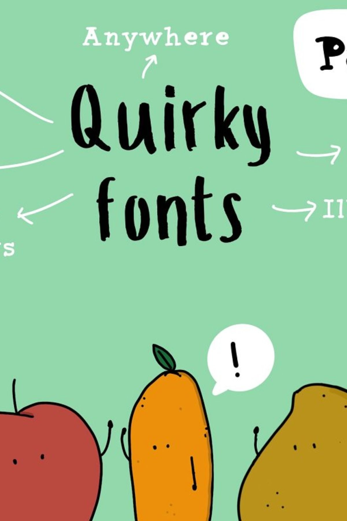 Download Quirky Fonts - Pack of 3   Font packs, Lettering fonts ...