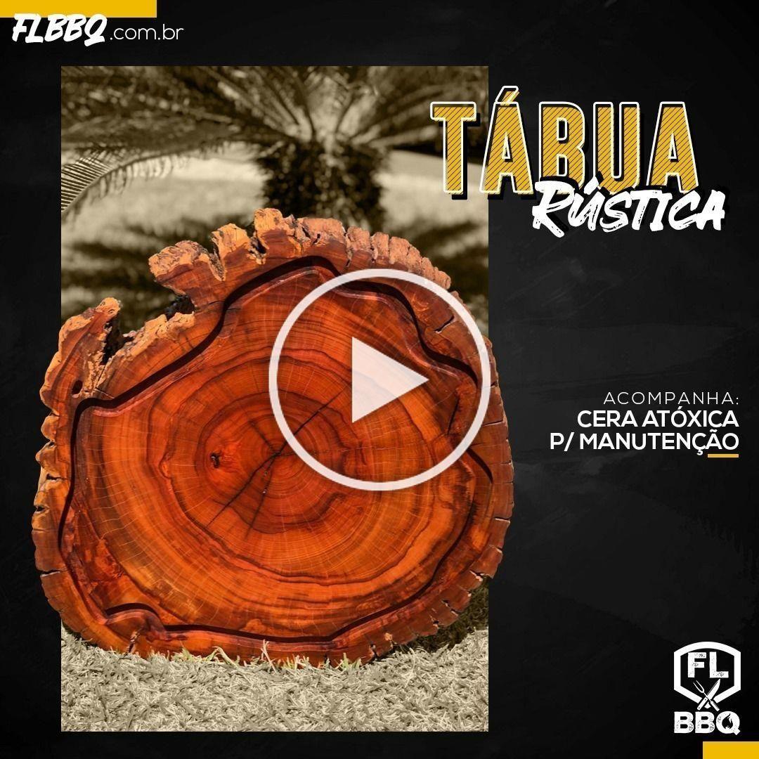 Essa Tábua Rústica é um estilo só! Entre em nosso site e confira! FLBBQ.COM.BR . . . . #churrasco #grill #bbq #cutelaria #top #woodworking #rustico #bbqemcasa