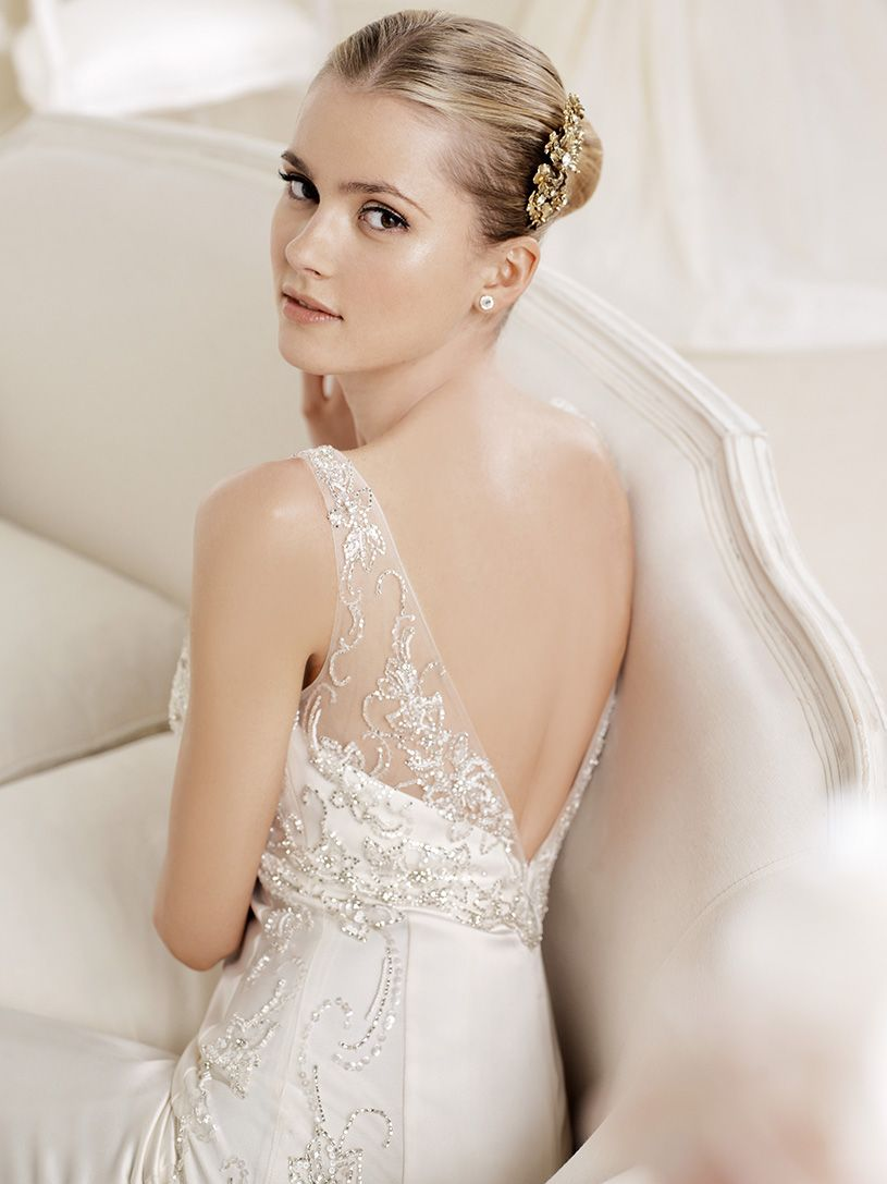 Wedding dresses downtown la  I love the beautiful look that this makeup artist created And I