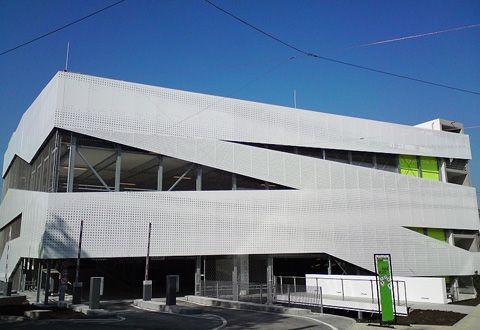 The Dieter Schwarz Foundation's education campus in Heilbronn is a design by Stuttgart-based architectural firm Petry + Wittfoht Freie Architekten BDA.