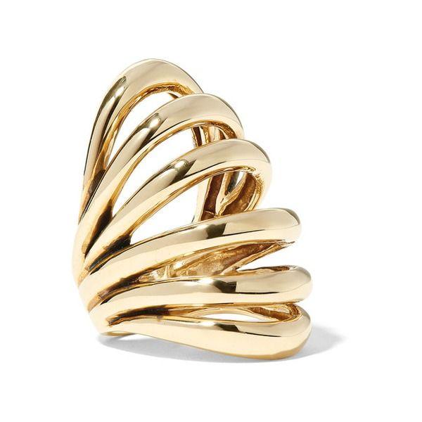 Insolare Bronze Ring - Gold Lisa Eisner Jewelry TJXvfX