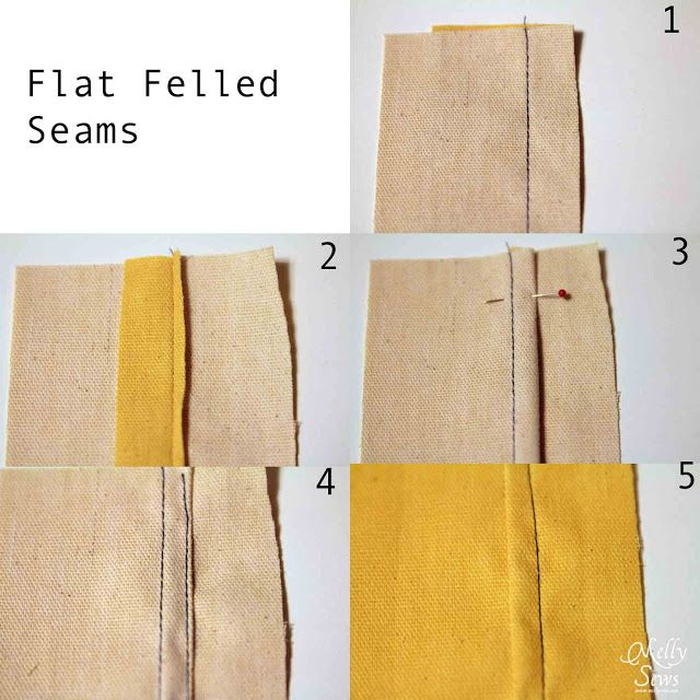 A Guide to Seam Finishes - Melly Sews