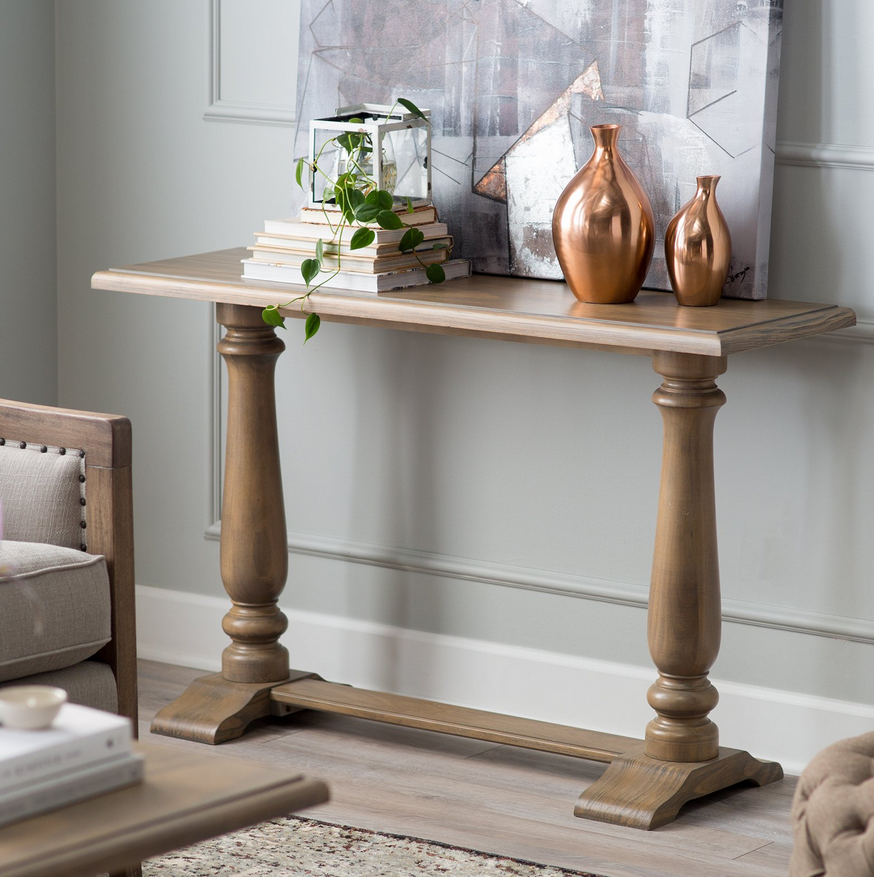title   Narrow Foyer Table