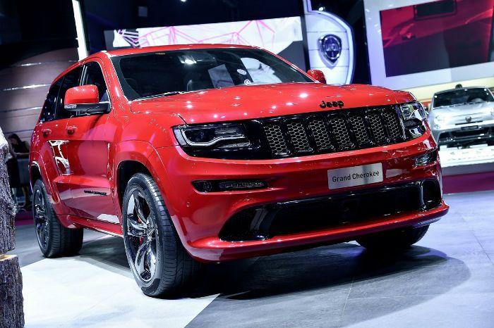 2018 Jeep Grand Cherokee Srt Hellcat