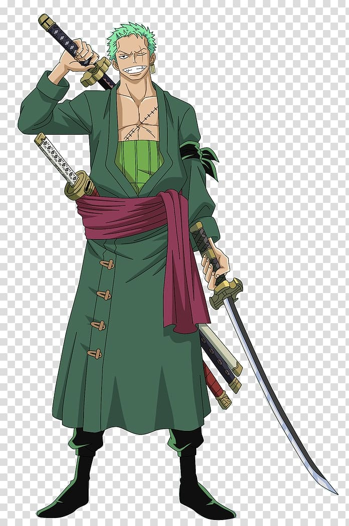 Man With Holding Sword With Green Suit One Piece Character Roronoa Zoro Monkey D Luffy Itachi Uchiha One Piece An One Piece Anime Roronoa Zoro Zoro One Piece