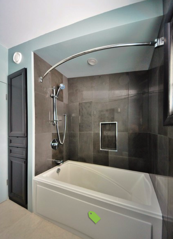 Love The Shape And Color Of These Tiles Again Would Need To See - Bathroom remodeling centennial