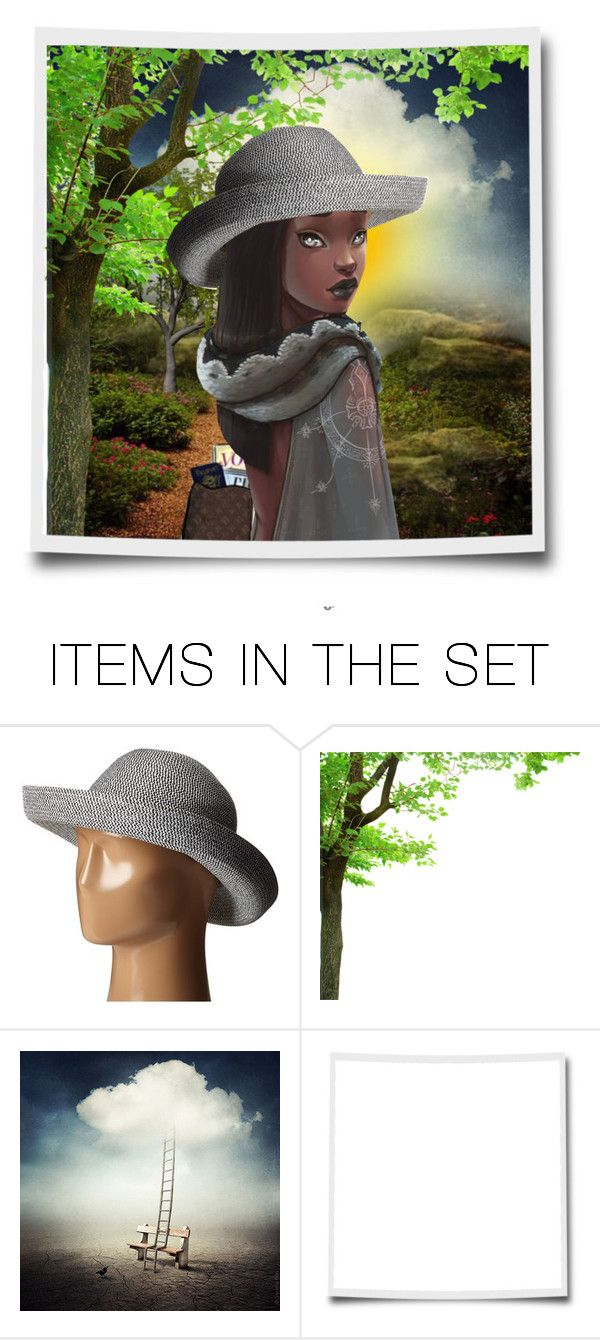 """""""On my way..."""" by lindafaulkner-adams ❤ liked on Polyvore featuring art"""