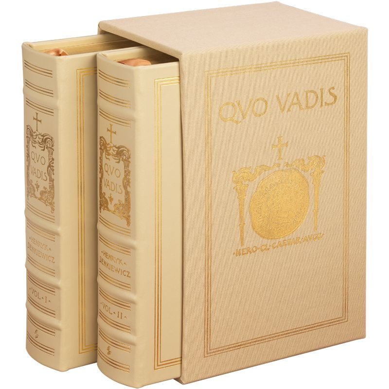 This Exclusive Leather-Bound 2-volume Set, Reproduces The